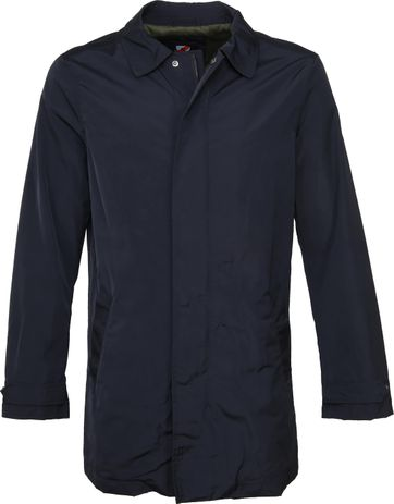 Suitable Trench Coat Navy