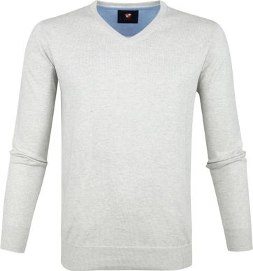 Suitable Vince Pullover Grau