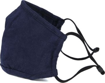 Suitable Washable Mouth Mask Dark Blue
