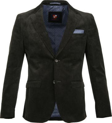Suitable Xavi Blazer Dark Green