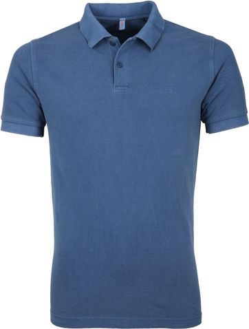 Sun68 Poloshirt Cold Blue