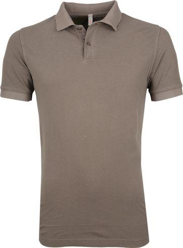 Sun68 Poloshirt Cold Brown