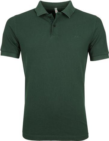 Sun68 Poloshirt Cold Dark Green