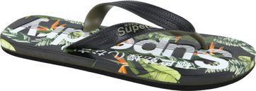 Superdry Flip Flops Tara Tropical