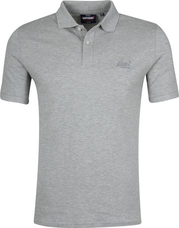 Superdry Micro Classic Poloshirt Grey