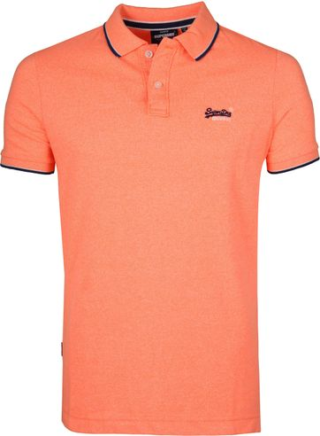 Superdry Polo Poolside Oranje
