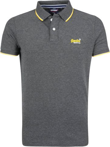 Superdry Poloshirt Grey