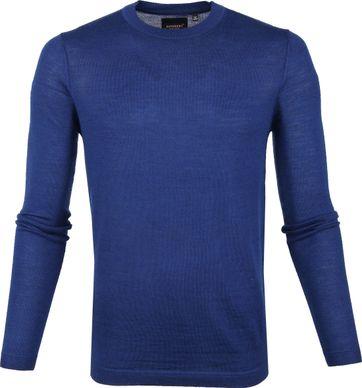 Superdry Pullover Merino Blau