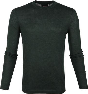 Superdry Pullover Merino Dark Green