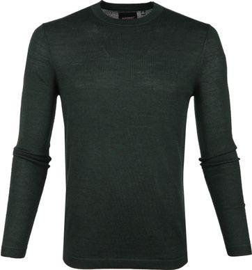 Superdry Pullover Merino Dunkegrün