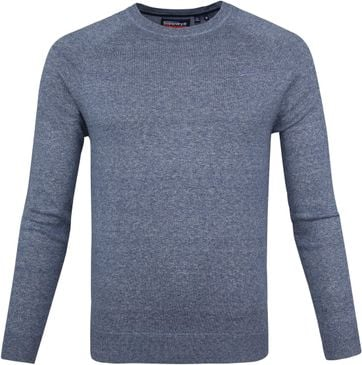 Superdry Pullover OL Cotton Crew Blauw