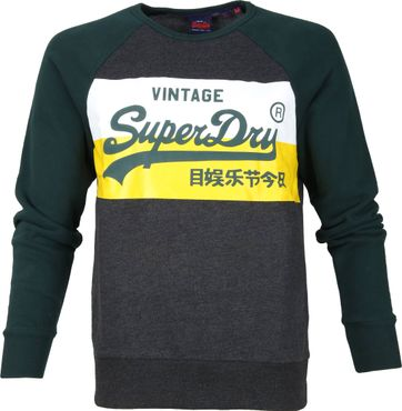 Superdry Sweater Colourblock