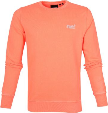 Superdry Sweater Pastelline Oranje