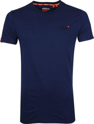 Superdry T-shirt Navy Stripes