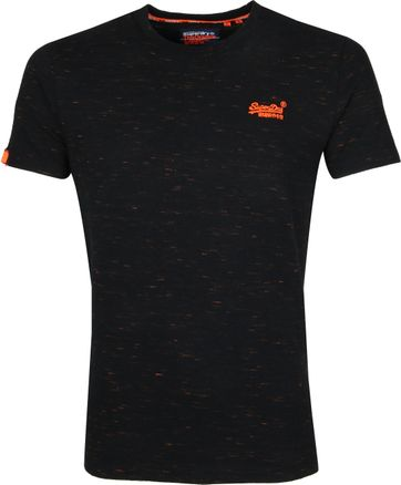 Superdry Vintage Crew T-Shirt Black