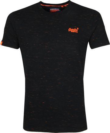 Superdry Vintage Crew T-Shirt Zwart