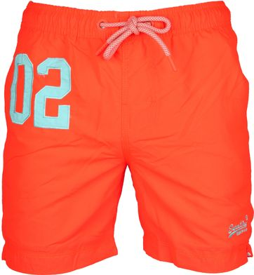 Superdry Zwembroek Water Polo Oranje