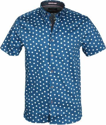 Ted Baker Hemd Blau Punkte