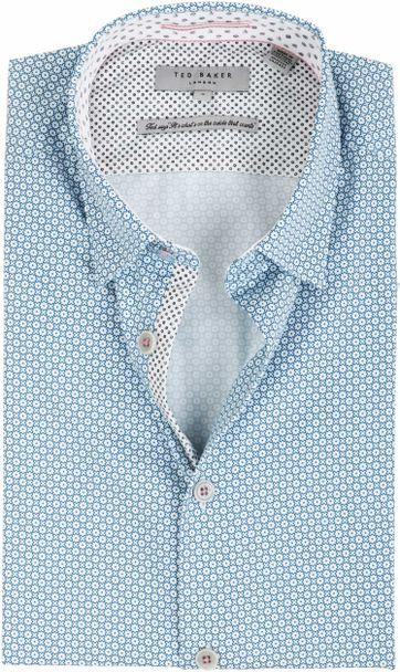 Ted Baker Overhemd Geometrisch Patroon
