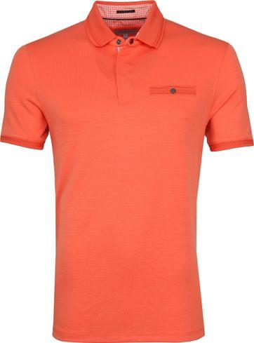 Ted Baker Plaza Poloshirt Orange