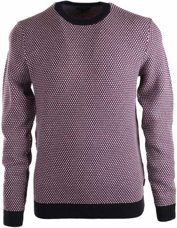 Ted Baker Sweater Dunkelblau Lila