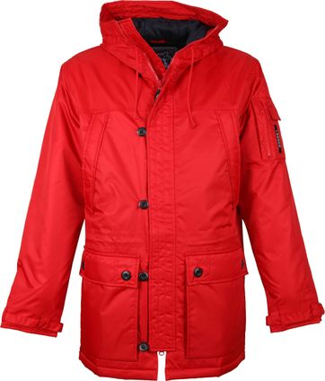 Tenson Himalaya Jacke Rot