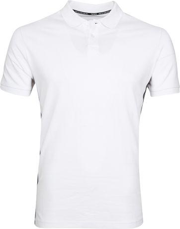 Tenson Poloshirt Zenith Weiß