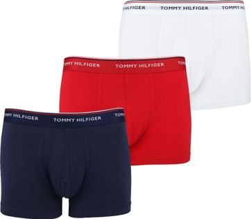 Tommy Hilfiger Boxershorts 3-Pack Trunk Multi