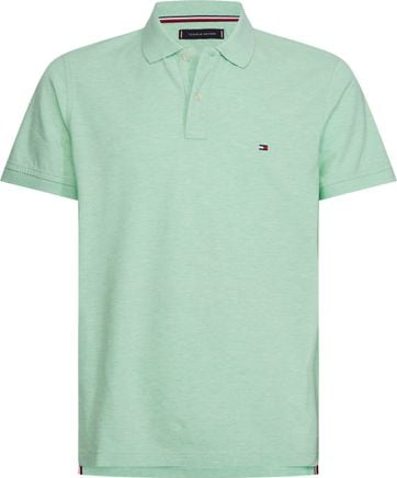 Tommy Hilfiger Heather Polo Lichtgroen