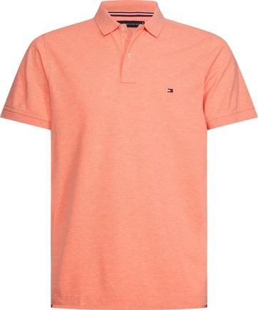 Tommy Hilfiger Heather Polo Oranje