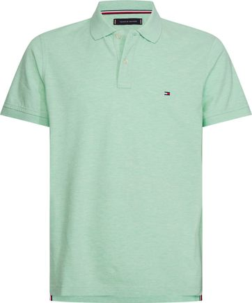Tommy Hilfiger Heather Poloshirt Light Green