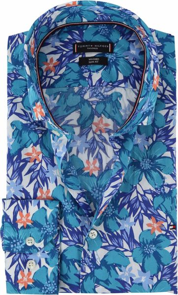 Tommy Hilfiger Hemd Blume SF