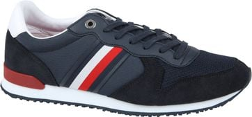 Tommy Hilfiger Iconic Sneaker Donkerblauw