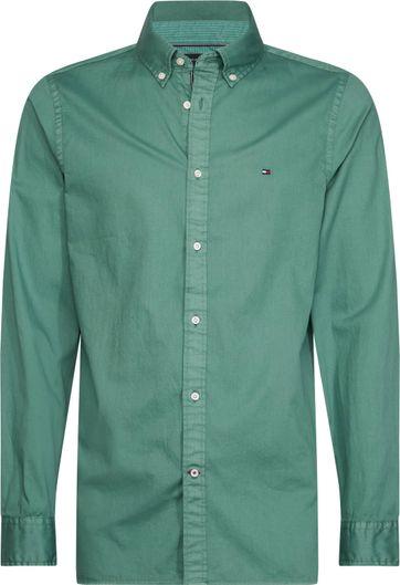 Tommy Hilfiger Overhemd Juniper Groen