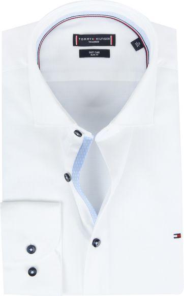 Tommy Hilfiger Overhemd Wit Dobby