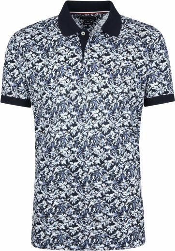 Tommy Hilfiger Poloshirt Drucken Marine