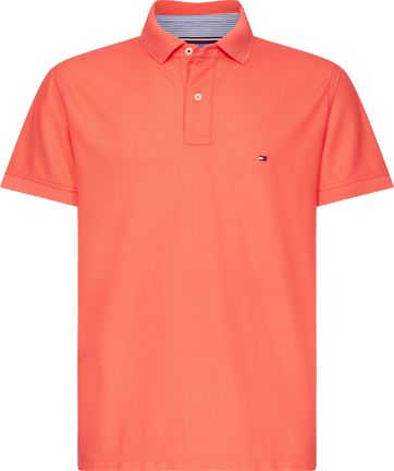 Tommy Hilfiger Poloshirt Neon Orange