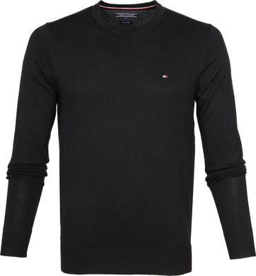 Tommy Hilfiger Pullover R-Neck Black