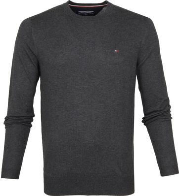 Tommy Hilfiger Pullover R-Neck Dark Grey