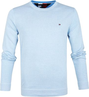 Tommy Hilfiger Pullover R-Neck Light Blue