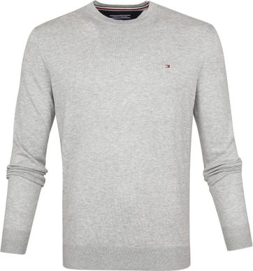 Tommy Hilfiger Pullover R-Neck Light Grey