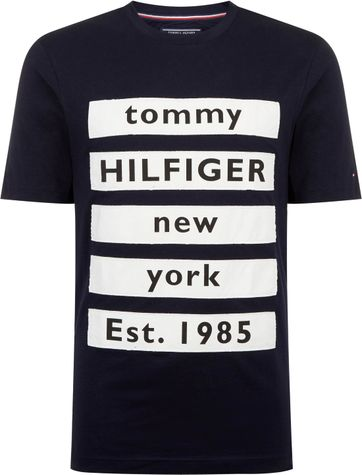 Tommy Hilfiger T-shirt Block Dunkelblau