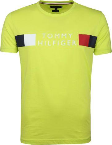 Tommy Hilfiger T-shirt Limoen Groen