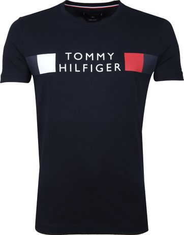 Tommy Hilfiger T-shirt Logo Blau
