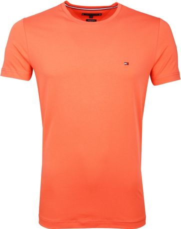 Tommy Hilfiger T-shirt Oranje