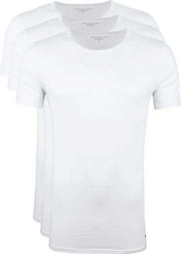 Tommy Hilfiger T-shirts (3Pack) Wit