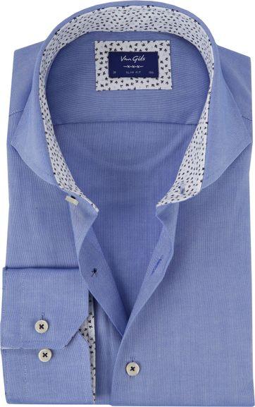 Van Gils Overhemd Extreme Blauw