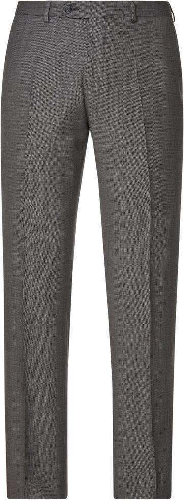 Van Gils Pantalon Buck Birdseye Antraciet
