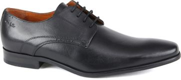Van Lier Shoes Black Lether