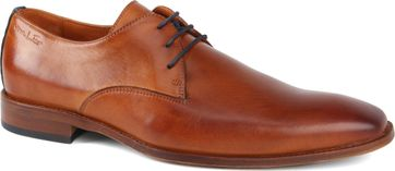 Van Lier Shoes Cognac Leather